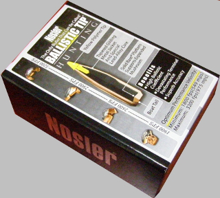 Nosler 30/125 Projectiles